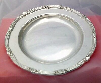 VTG Silver Plate Dished Serving Platter James Dixon & Sons for Claridge's Hotel