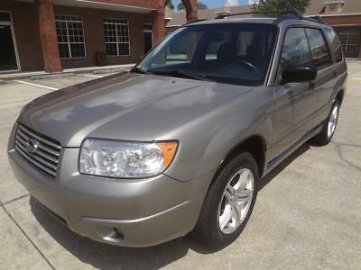 2006 Subaru Forester 2.5 X 2006 FORESTER X GORGEOUS SUV. 1 OWNER. RUST FREE. RUNS & LOOKS GREAT. NICE