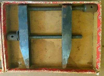 """Moore & Wright Vintage Toolmakers Clamps pair 5"""""""