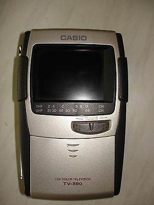 Casio TV-880N LCD Color Television Tragbarer Fernseher
