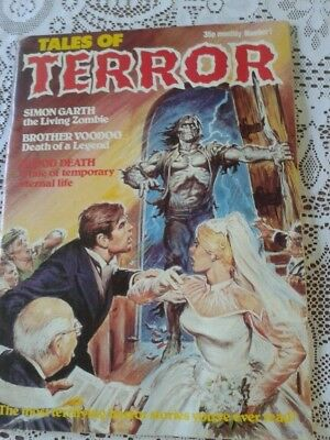 Tales Of Terror Issue 1 By Portman Publishing Of Thurmaston