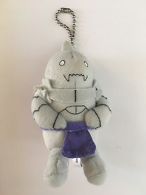 Rare Bandai Fullmetal Alchemist AL Mascot Plush Mini Mascot Official From Japan