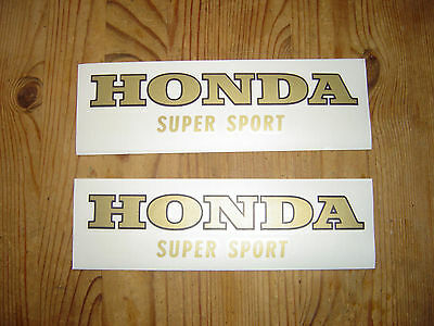 Honda CB Tankaufkleber Sticker Decals