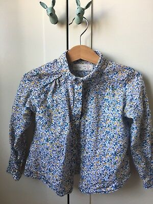 Zara Baby Girl Floral Blouse 2-3 Years