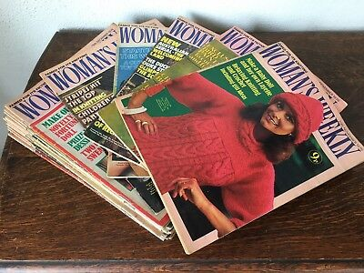 20 Vintage Womens Weekly Magazines