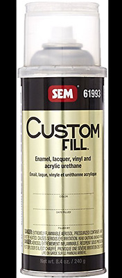 Custom Fill Aerosol Can Oem Color In A 1K Base/Coat Can Needing To Be Cleared