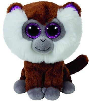 TY BEANIE BOO TAMOO THE MONKEY 15cm GLITTER EYES