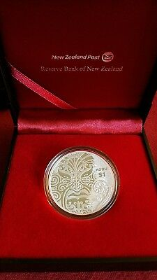 2013 New Zealand Post-Koru-Proof Silver Coin