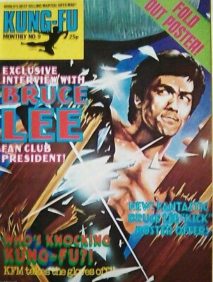 Kung Fu Monthly no.9 (U.K. Magazine) used very good condition