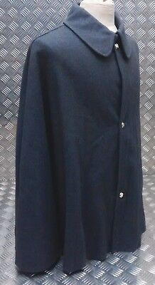 Genuine Vintage British Military Footguards Cape Blue Grey Ceremonial Parade