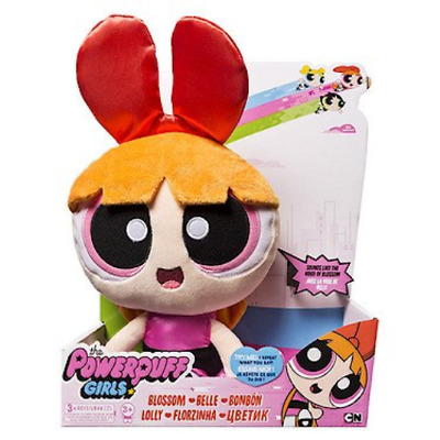 Powerpuff Girls Interactive Plush - Blossom