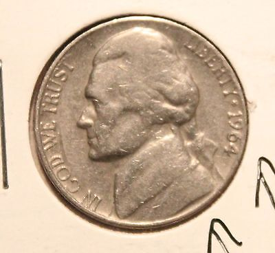 1964 D Jefferson Nickel ( Doubled Mint Mark ) and on Building Right side