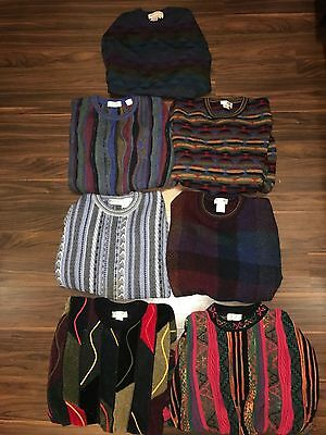 Norm Thompson Vintage Tundra Sweater Collection Lot Made In Italy Canada Uruguay