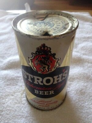 Strohs Flat Top Steel Can