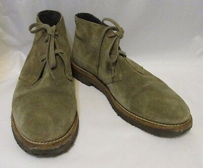 Vince Italy Suede Chukka Boots Shoes - Men's Size 10
