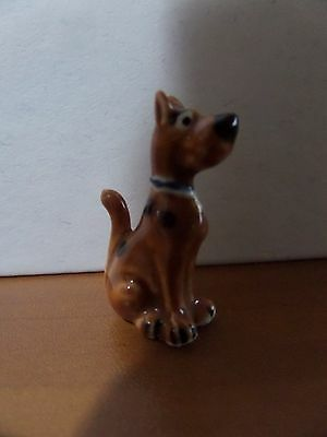 "1.25"" Ceramic Scooby Doo Figurine"