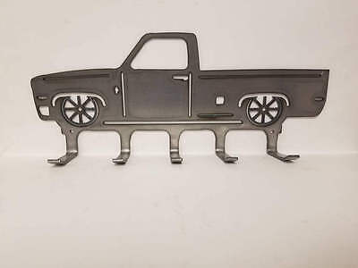 SALE *** Square Body C10 Truck Metal Wall Hanger * Hold Your Keys, Hats, Ect!