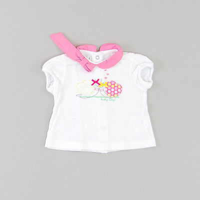 Camiseta color Blanco marca Prenatal 1 Mes