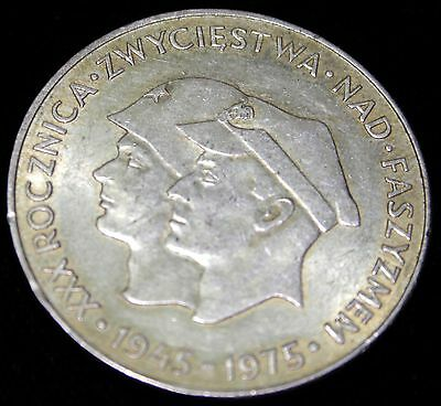 Poland, 200 Zlotych, 1975 SILVER Victory over Fascism