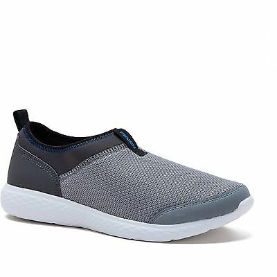 US Men Shoe Size 11 Athletic Slip on Basketball Post Game Casual Sneakers Gray