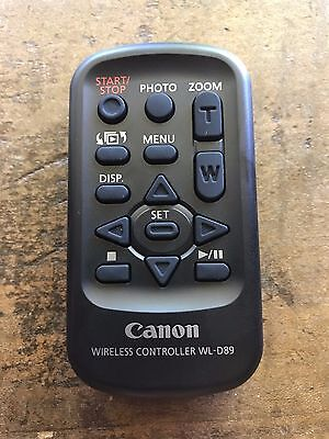 Cannon Wireless Controller Remote WL-D89, New without Packaging - Genuine