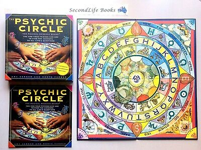PSYCHIC CIRCLE ~ The Magical Message Board. VGC (2008). Divination Ouija Board.