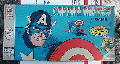 1966 Captain America Board Game COMPLETE Tales Of Suspense 77 Iron Man