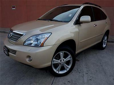 2008 Lexus RX LUXURY PACKAGE AWD 2008 LEXUS RX-400H HYBRID LUXURY GARAGE KEPT NAVIGATION CAM HEATED SEAT WOOD