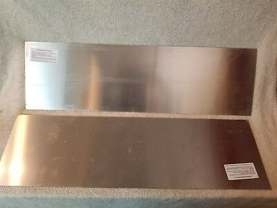 Stainless steel door kick plate 10x34 inches (no visible fasteners)