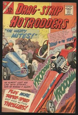 Charlton Drag Strip Hotrodders Comic Book No. 6 1965 Very Fine