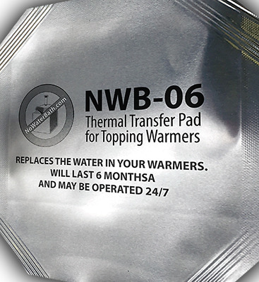 No Water in Hot Fudge Warmers! Server ,APW ,Gold Medal. No Mineral Buildup ,