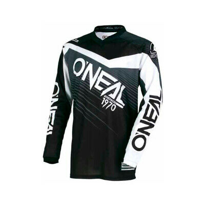 Oneal 2018 Element Race Wear Mx Motocross Jersey Black Grey Adult