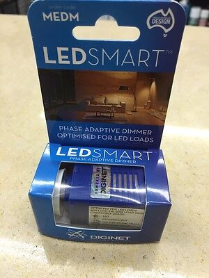 1 x Diginet LEDSMART Led Dimmer (MEDM)-DIMS TYPICALLY DOWN TO 0%