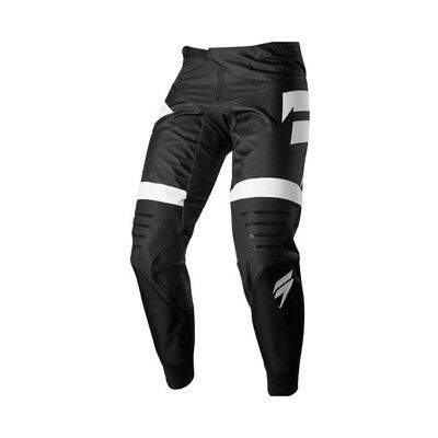 Shift 2018 3Lack Label Strike Motocross Mx Pants Black White