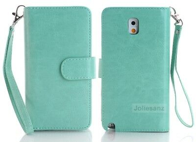 For Samsung Galaxy Note 4  PU Leather Magnetic Card Holder Wallet Case Cover