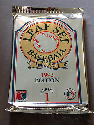 Leaf Set 1992 Series 1 Baseball Cards 2000 Picclick
