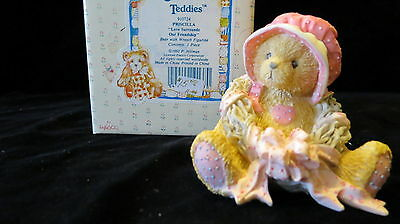 Cherished Teddies Collectable Bears By Enesco Priscilla 910724