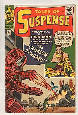 Tales Of Suspense #46 (VG+) (1963, Marvel) Early Iron Man!