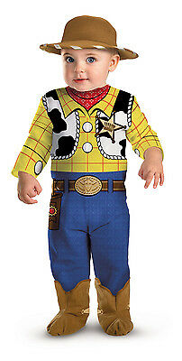 Woody Toy Story Disney Infant 0 – 6 months Toddler 1 - 2 years Boy Baby Costume