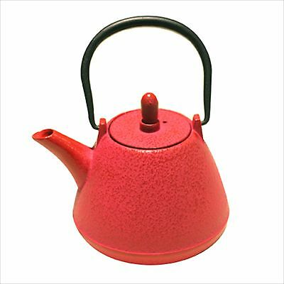 NANBU TEKKI Japanese Cast Iron Teapot Kyusu Dome Type ROSE PINK 0.4L Japan NEW