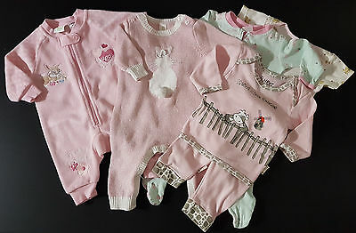 BABY GIRL Sz 000, CLOTHING BUNDLE ~ NEXT for BABY, DISNEY BABY,  & MORE