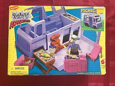 Nickelodeon Rugrats Picnic Rv Motorhome Figures new in opened Box