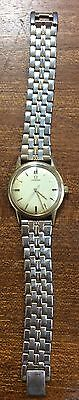 Omega automatic men's watch 9ct gold - used in working order - 1960's