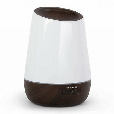 NEW 15W 4 in 1 Ultrasonic Aroma Diffuser 500ml with 2 Mist Modes - Dark Wood