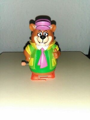 RARE Vintage 1992 Huckleberry Yogi Wind-Up Toy Figure by Hannah Barbera