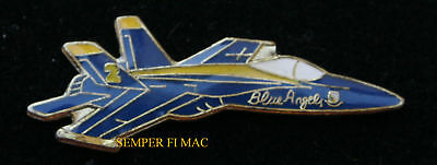 Blue Angels F18 Hornet #2 Right Wing Pilot Lapel Hat Pin Us Navy Marines Wing