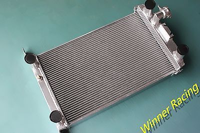 "2 ¼"" Core Aluminum Alloy Radiator Ford Street/hot Rod W/flathead V8 1937-1939 Mt"