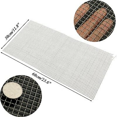 """Stainless Steel 304 Mesh #20 .016 Wire Cloth Screen 6/""""x12/"""""""