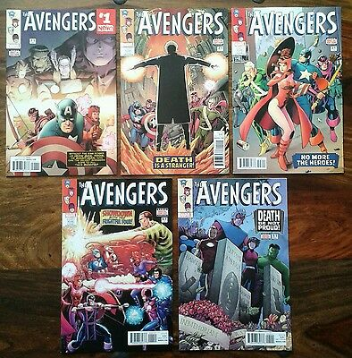 The Avengers #1.1 to #5.1