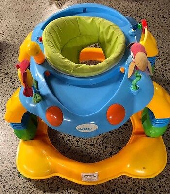 Safety 1st 3 In 1 Baby Walker And Activity centre
